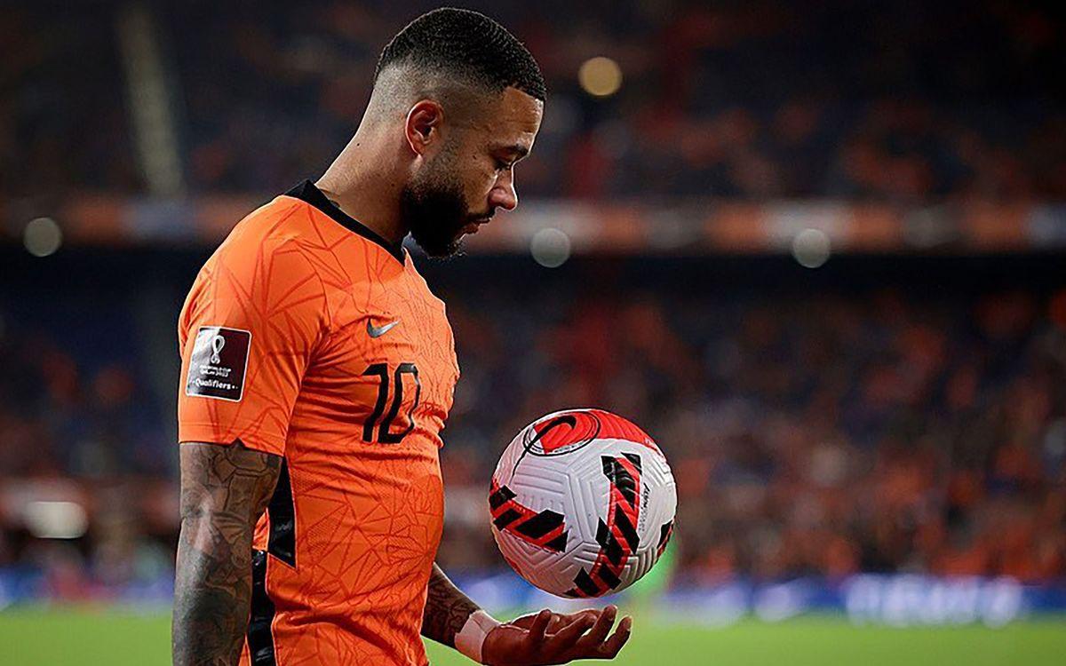 Memphis, goles de récord con Holanda