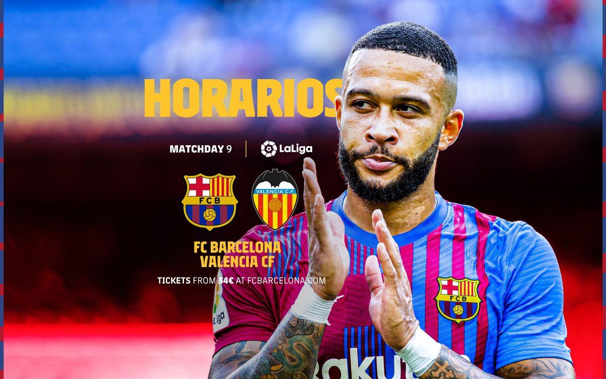 Cuándo y dónde ver el FC Barcelona - Valencia