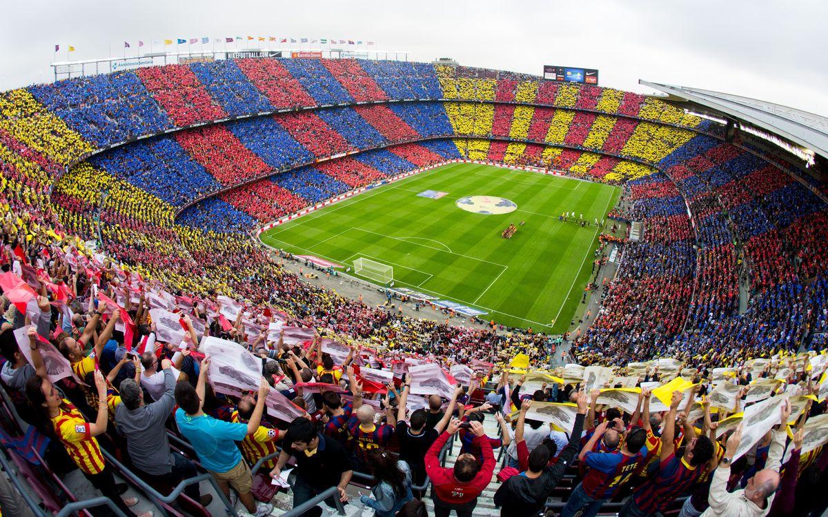 Camp Nou back to full capacity