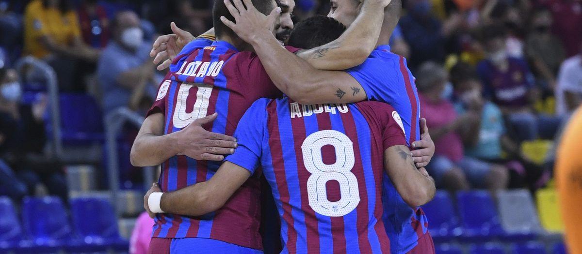 Barça-Burela: Goleada azulgrana (6-1)