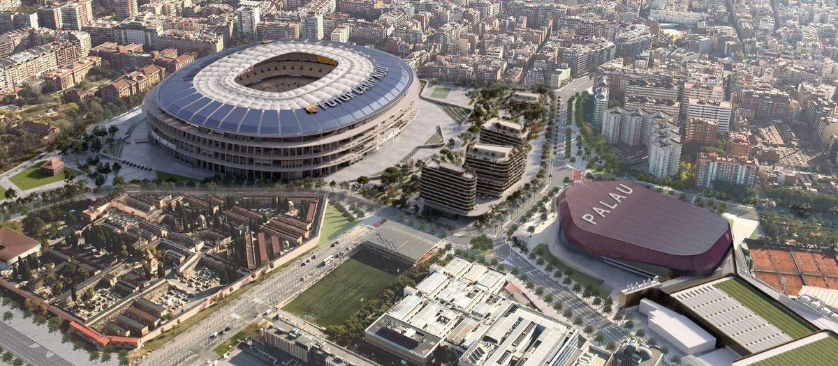 Tous les détails sur l'Espai Barça et son financement