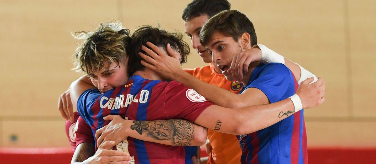 El filial se libera contra el Leganés (9-2)