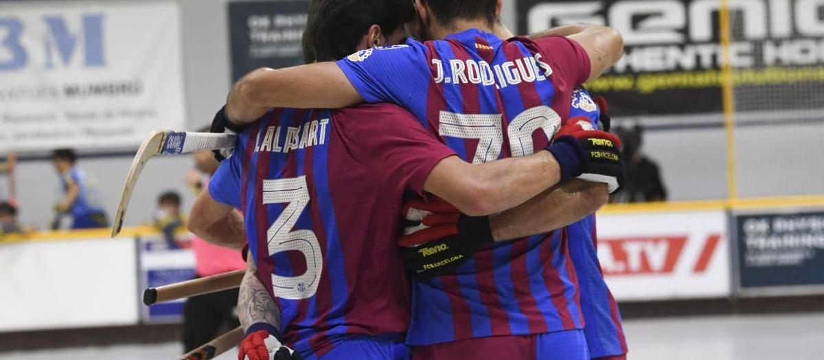 Alcobendas  – Barça: Triomf treballat abans de l'aturada (1-4)