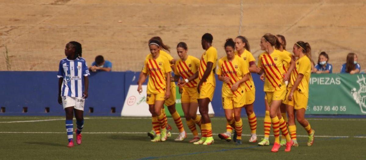 Sporting Huelva 0–5 Barça Women : No let up from leaders