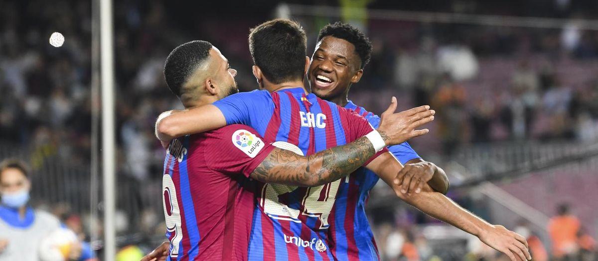 FC バルセロナ - バレンシア: カンプノウでの逆転勝利 (3-1)
