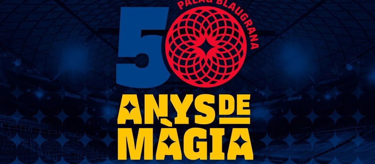 FC Barcelona to celebrate 50 years of Palau Blaugrana with an institutional act this Saturday