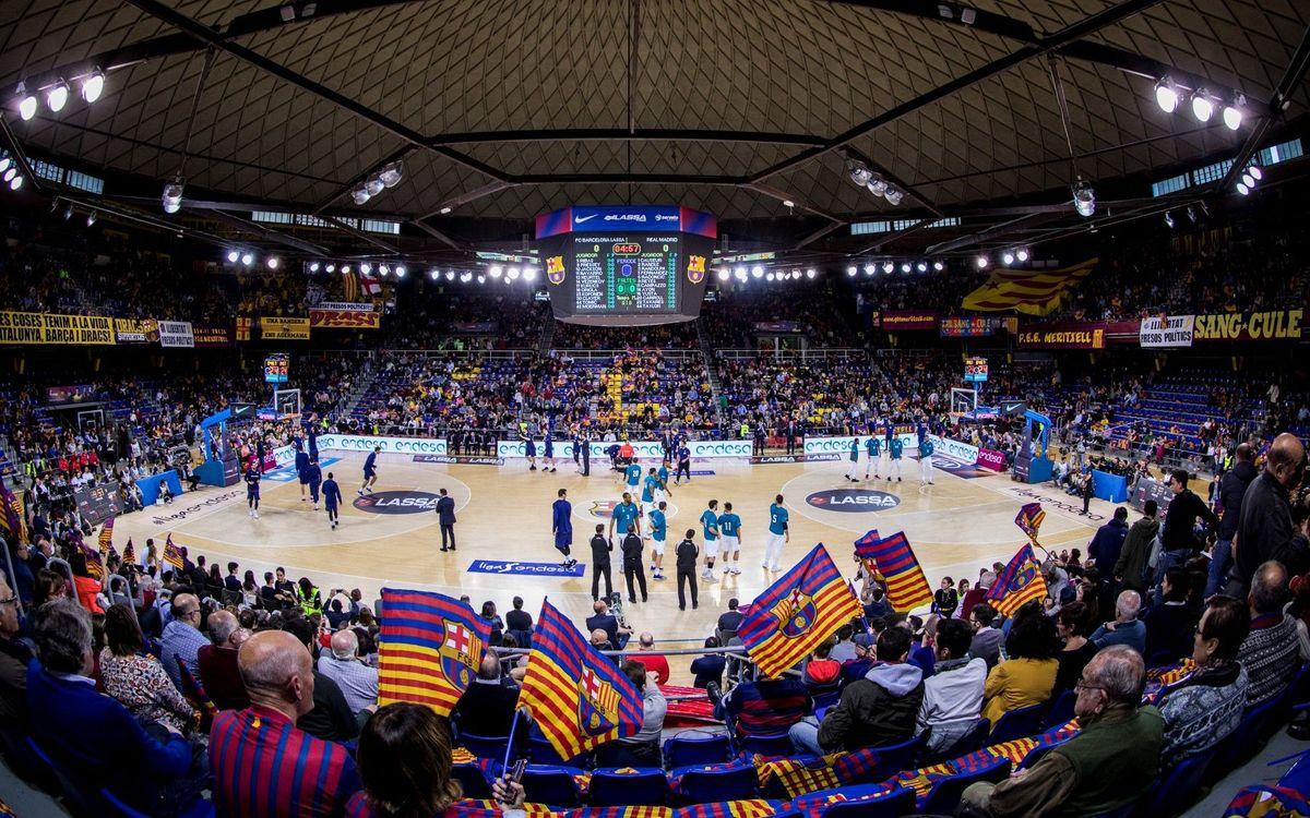 Torna l'aforament complet al Palau Blaugrana en el partit d'Eurolliga contra el Zenit