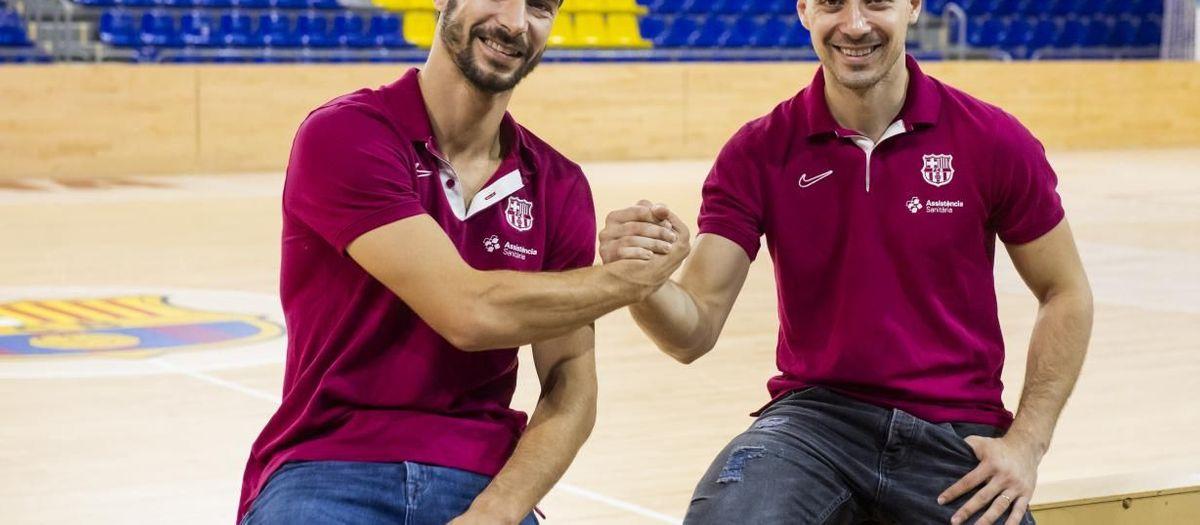 """Sergi Fernández i Matias Pascual: """"Volem seguir evolucionant i reafirmar el nostre joc"""""""