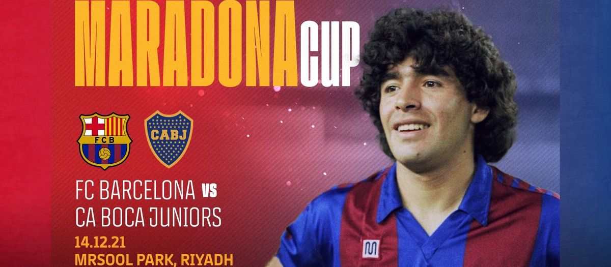 FC Barcelona and Boca Juniors to meet in Maradona Cup in honour of the Argentine legend