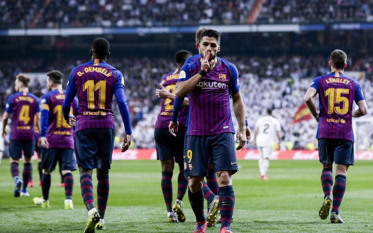 Le Barça s'empare (encore) de Bernabeu (0-3)