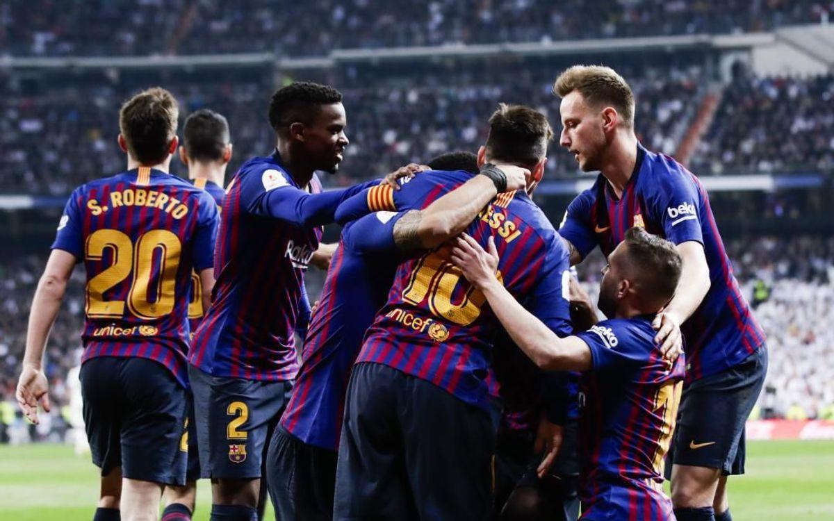 FCバルセロナ、6回目の国王杯決勝進出!