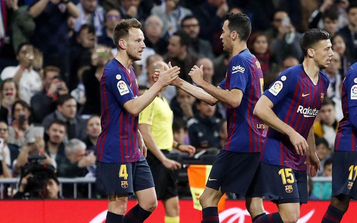 Cuarta victoria consecutiva en el Bernabéu en la Liga