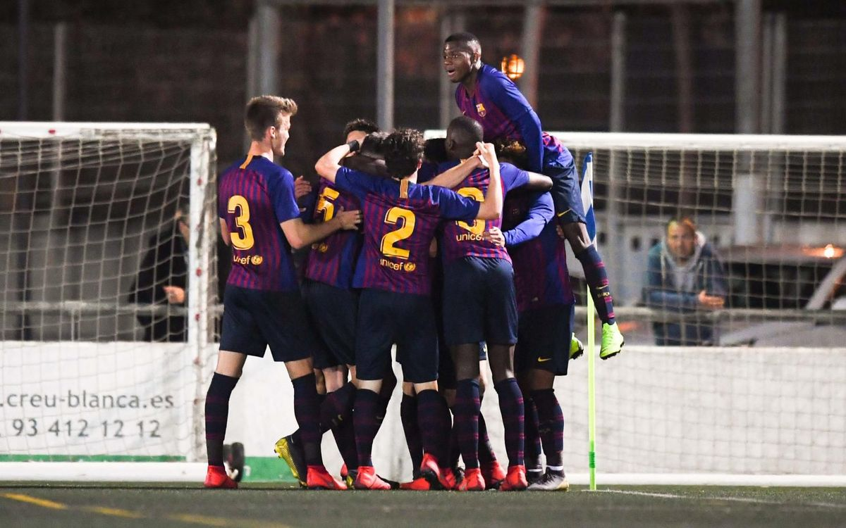 Espanyol – Juvenil A: El Barça se lleva el derbi (0-2)
