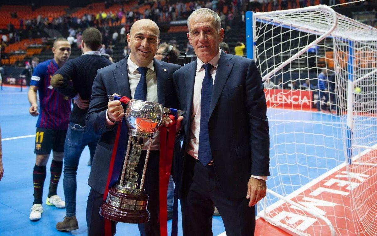 """Andreu Plaza: """"Hem d'assaborir la victòria"""""""