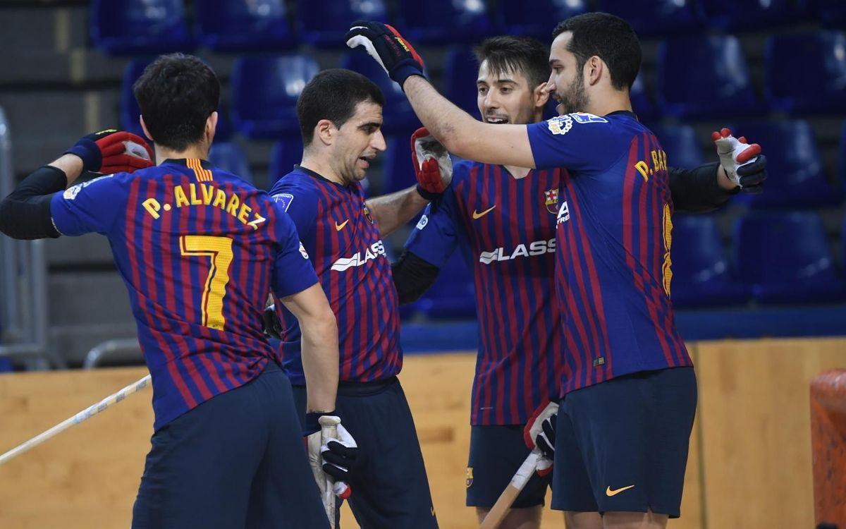 Barça Lassa - CP Calafell: Goleada de los campeones de Copa (7-0)