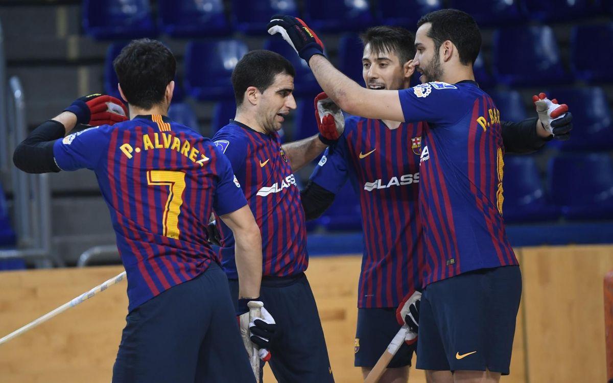 Barça Lassa – CP Calafell: Golejada dels campions de Copa (7-0)