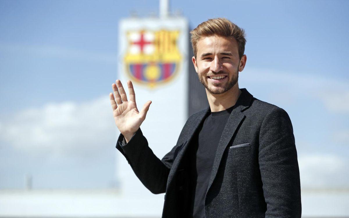 Sergi Samper: I'll never forget Barça