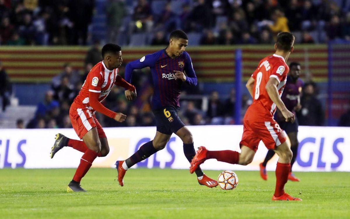L'estrena de Todibo amb el Barça