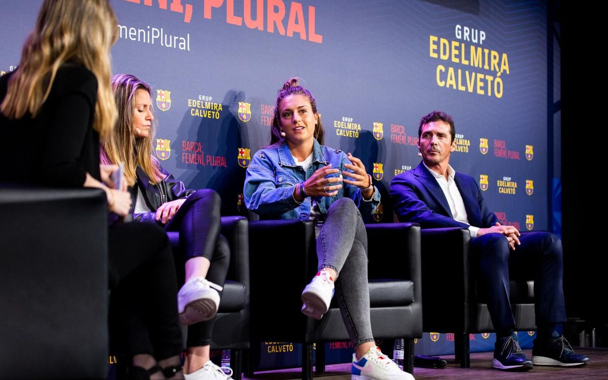 Success for 'Barça: Women, plural' on the day of International Women's Day