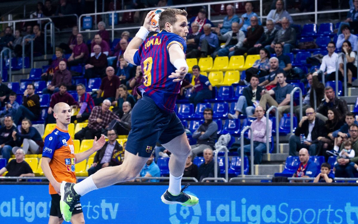 Barça Lassa 43 – 26 BM Benidorm: Comfortable win to stay leaders