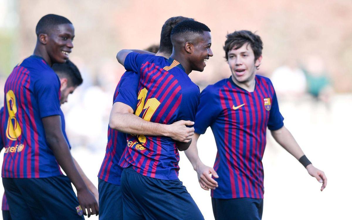 Juvenil A - RCD Mallorca: Victoria de prestigio para seguir soñando (4-0)