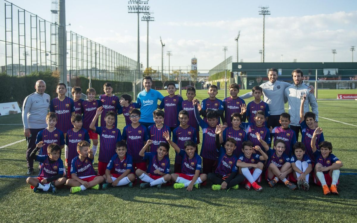 Clínic d'Scotiabank amb Luis Garcia | VÍCTOR SALGADO - FCB