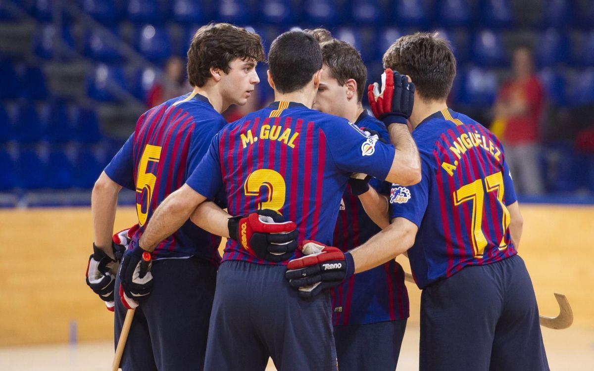 Barça Lassa – Dinan Quévert: Victòria solvent per tancar la primera fase europea (7-2)