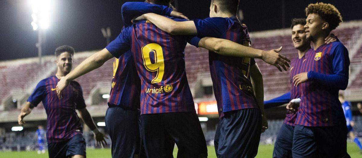 U19A 3-0 Hertha BSC: Barça into the quarterfinals