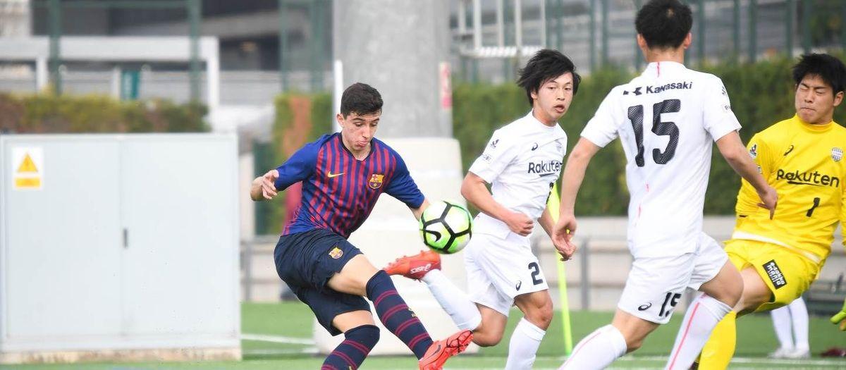Juvenil B - Vissel Kobe U-18  Un amistoso lleno de goles (3 2bba9ef94784a