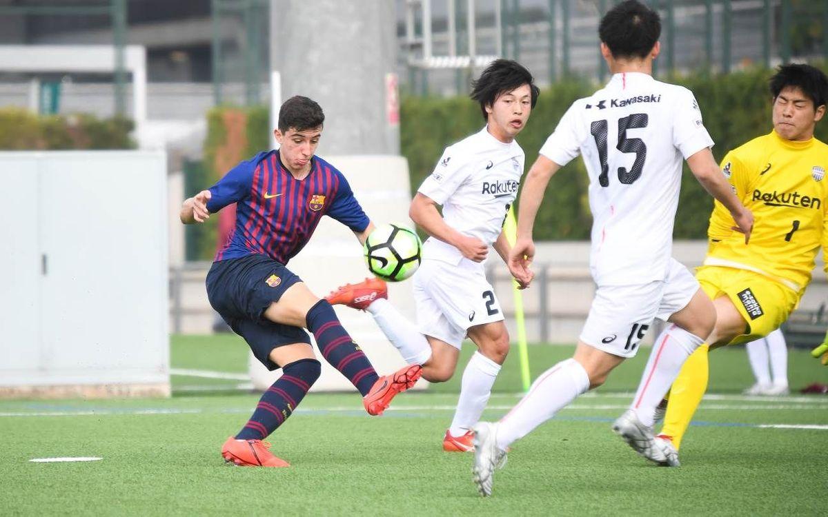 フベニル B - ヴィッセル神戸 U-18:ゴール溢れる親善試合 (3-4)