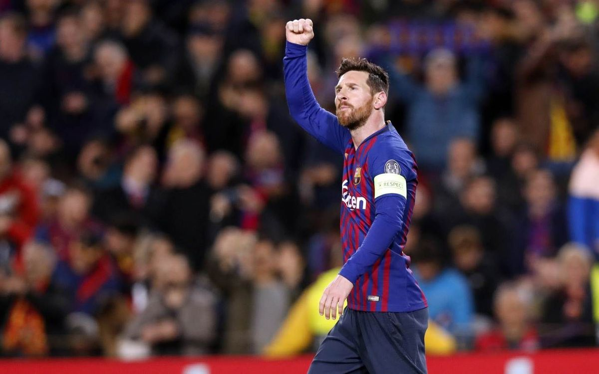 Messi makes 100th start as Barça captain
