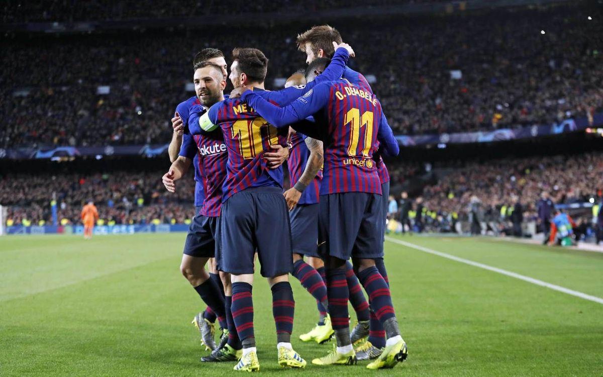 Festival goleador para estar en cuartos (5-1)