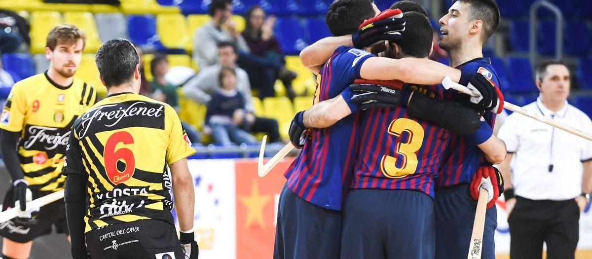 Barça Lassa 2-1 Noia Freixenet: Last moment victory