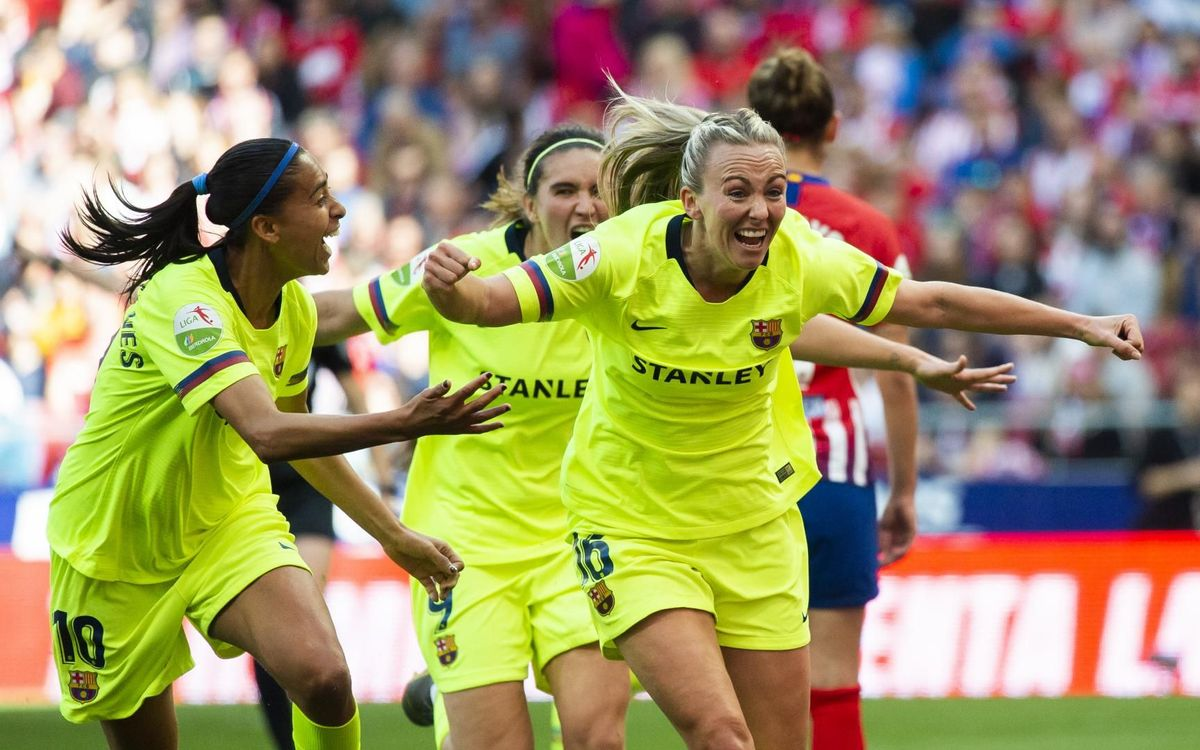 b41ab0c4311 Barça Women win in front of a record crowd