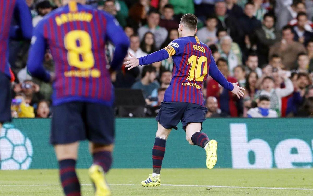 El 10, present en els al·licients del Barça-Espanyol