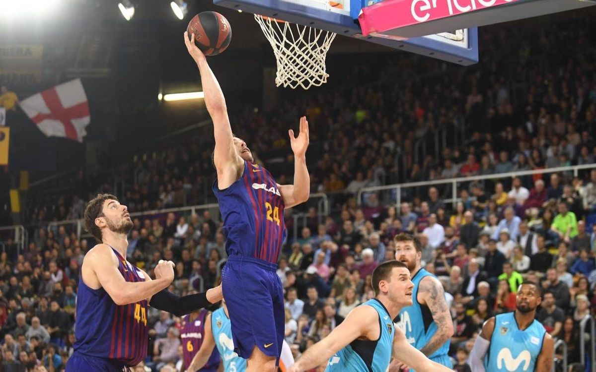 Barça Lassa - Movistar Estudiantes: Fortifican el liderato (90-76)