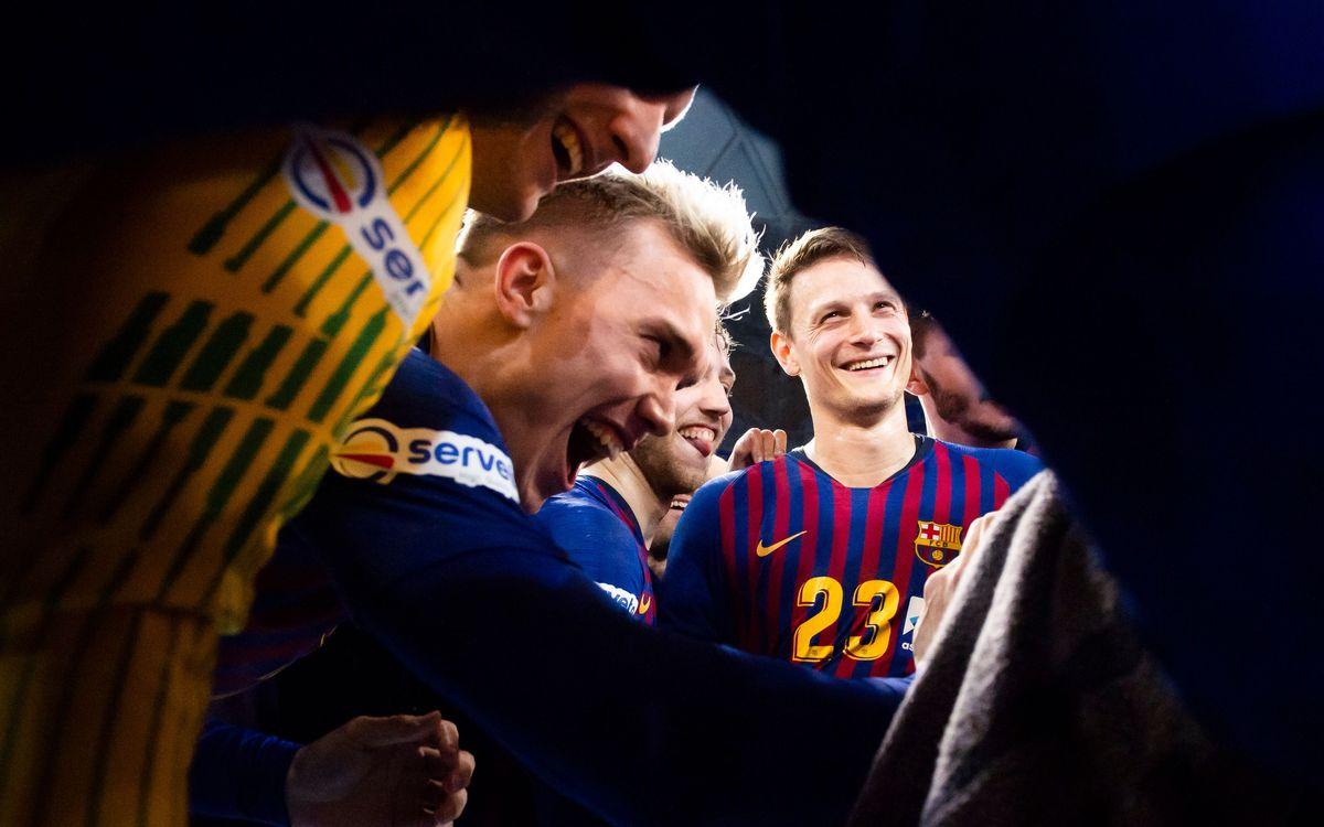 Barça Lassa - Guadalajara: ¡Una victoria de campeonato! (40-24)