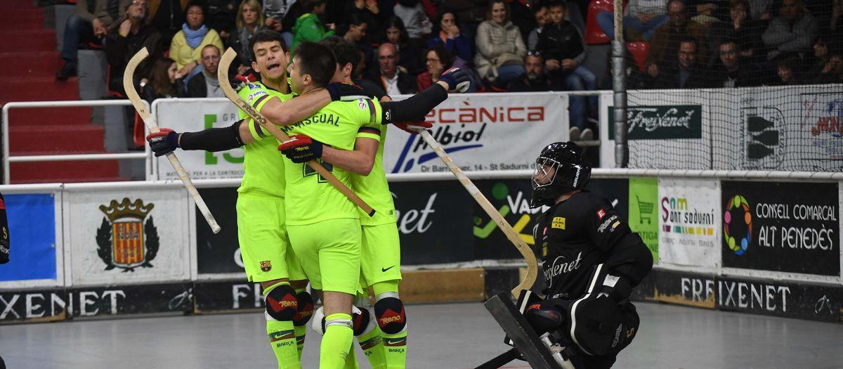 Noia Freixenet 3–4 Barça Lassa: The Palau will decide