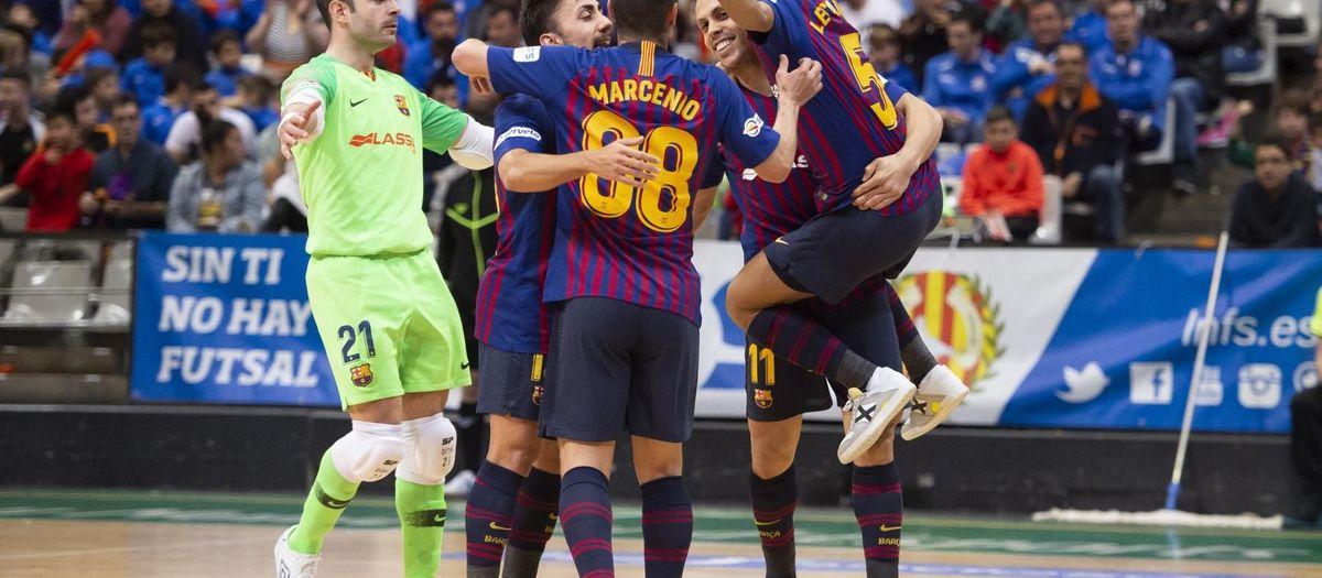 Industrias Santa Coloma – Barça Lassa: Recuperen el liderat (2-3)