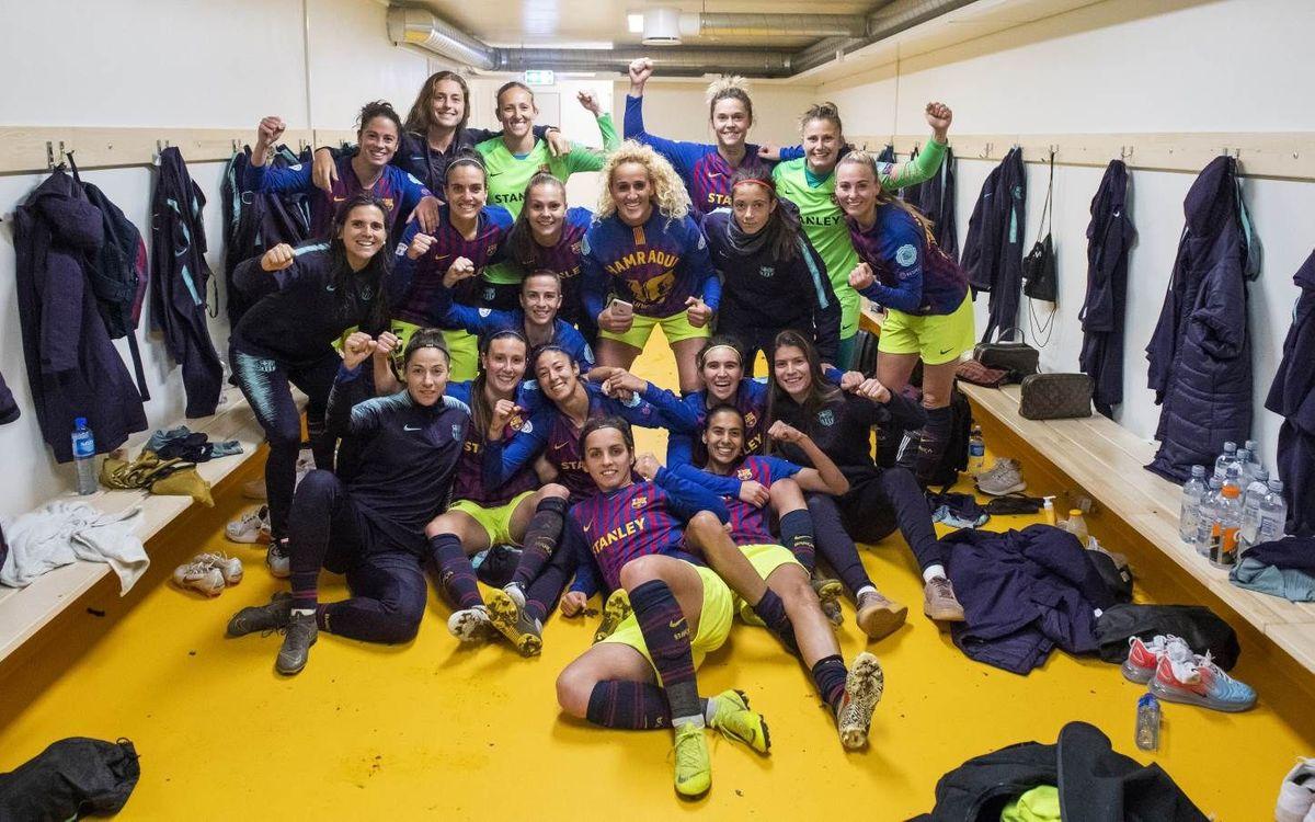 A semis de la Champions per segon cop a la història!