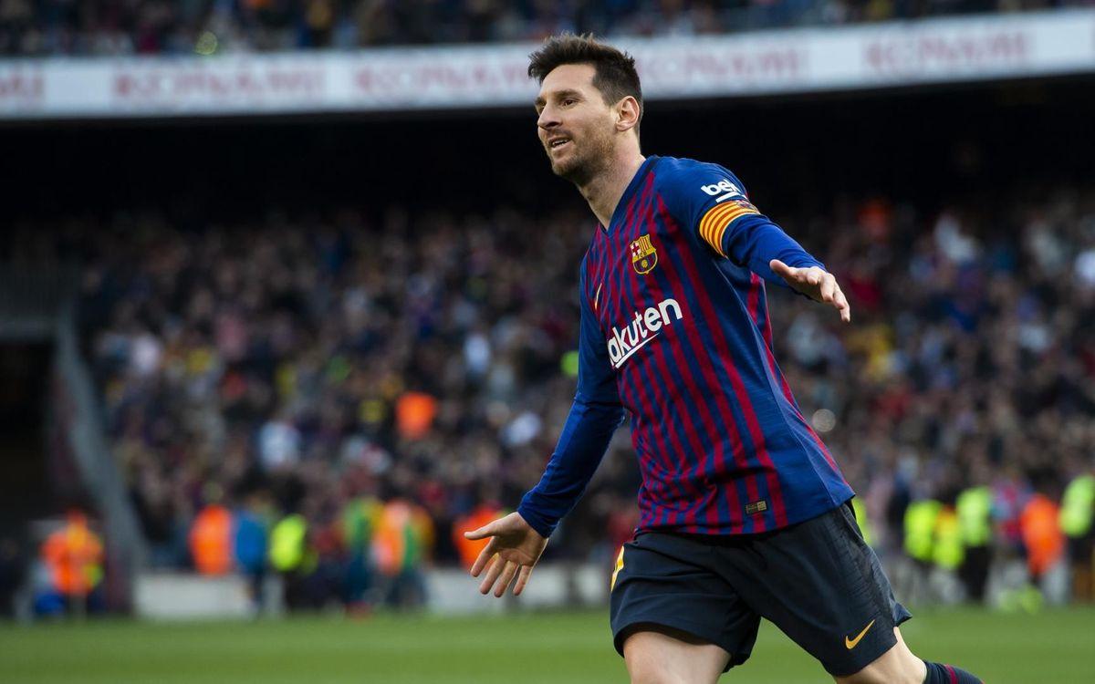 Barça - Espanyol: Messi vuelve a decidir el derbi (2-0)