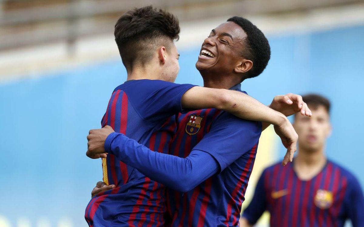 Juvenil B – Girona B: Victòria de talent (3-1)