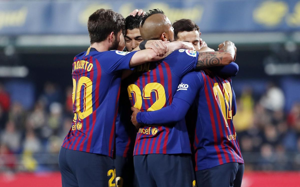 Barça's 8 games remaining