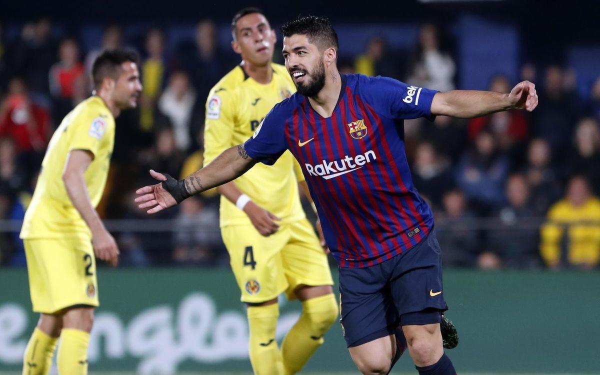 Reacción de líder en Villarreal (4-4)