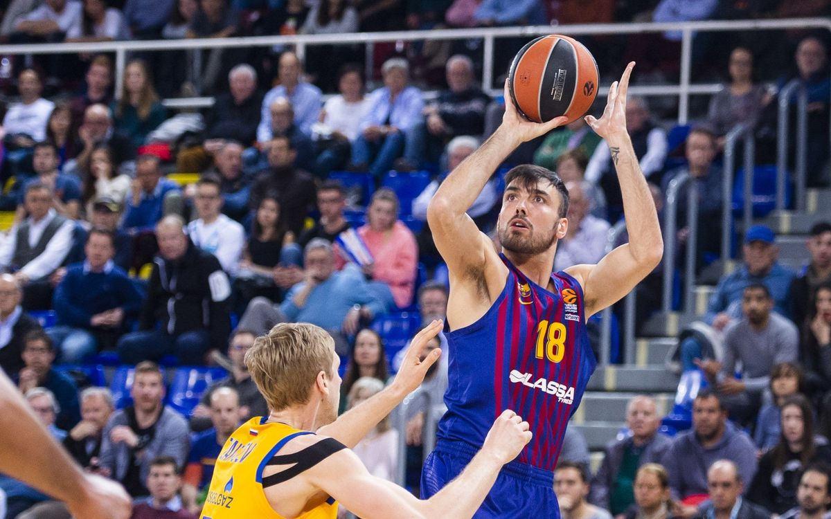 Barça Lassa 83-74 Khimki Moscow: Ending on a high