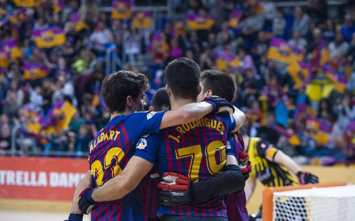 Barça Lassa - Noia Freixenet: ¡Clasificados para la Final Four! (7-0)