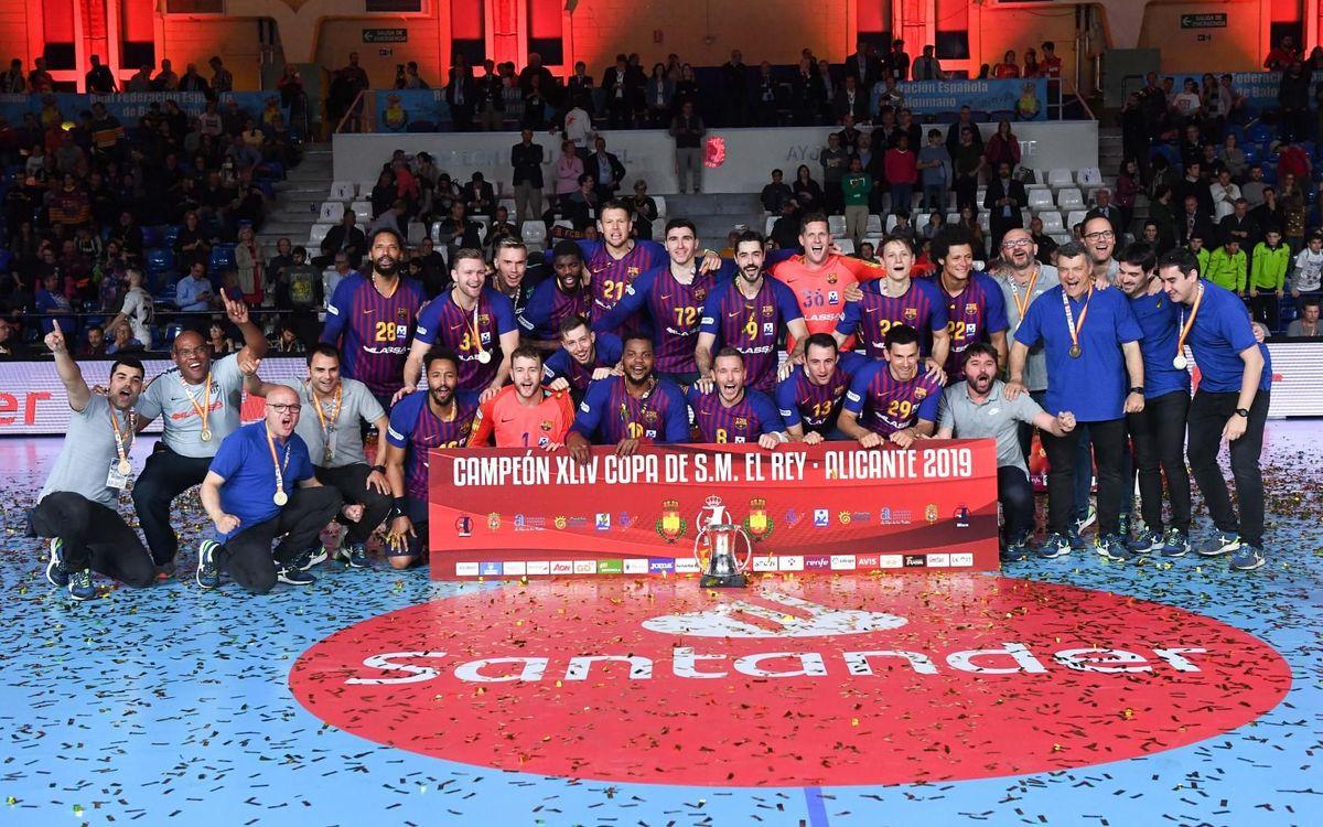 Cae la sexta Copa del Rey consecutiva