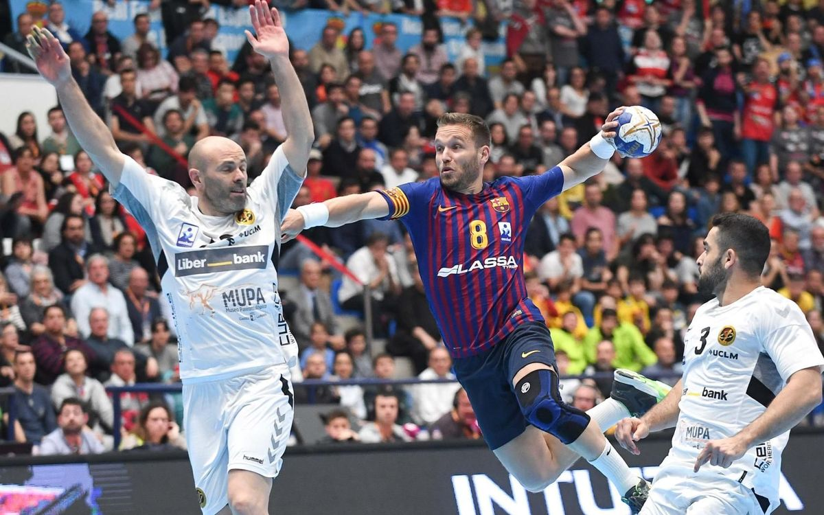 Barça Lassa – Liberbank Conca: Campions de la Copa del Rei! (34-18)
