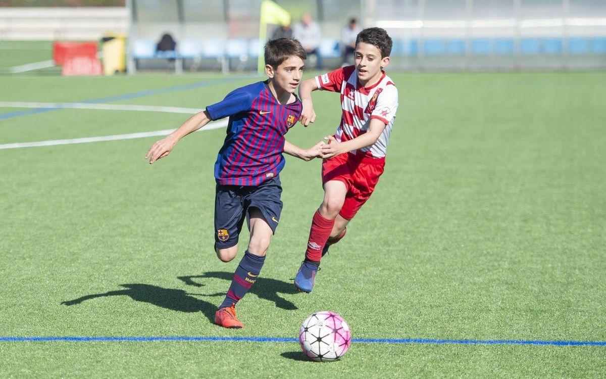 Un gran fin de semana para el fútbol formativo amateur azulgrana
