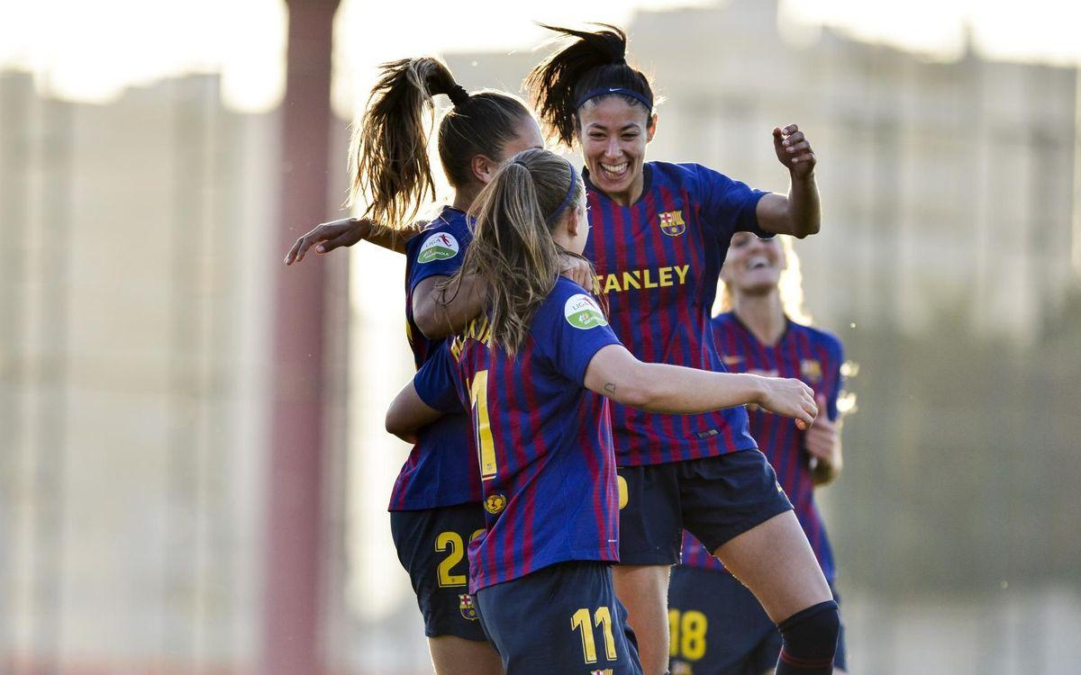 Barça Femení – Màlaga CF: Contundència per seguir la lluita (6-0)